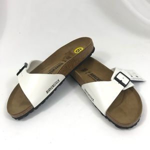 Birkenstock Madrid Single Strap Leather Sandal 40